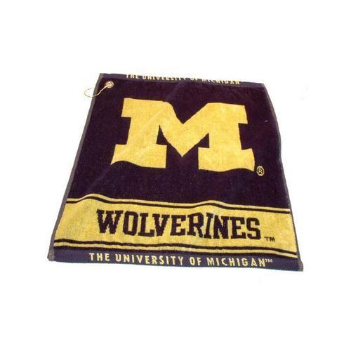 University of Michigan Wolverines Woven Golf Towel