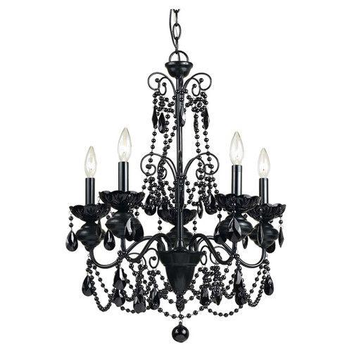 Found it at wayfair mischief elements 5 light candle chandelier chandeliers aloadofball Gallery