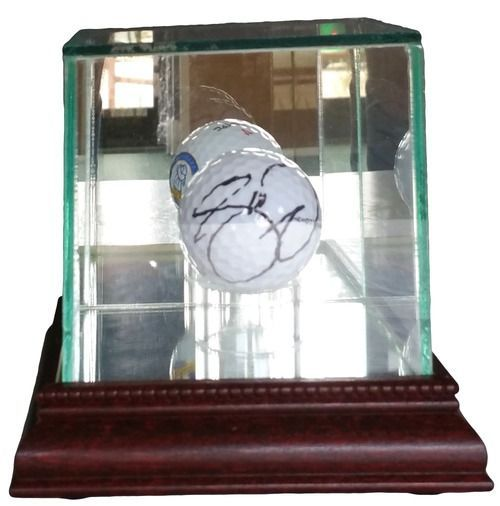 Jason Day Signed 2016 Canadian Open Golf Ball w/ Glass Display Case JSA