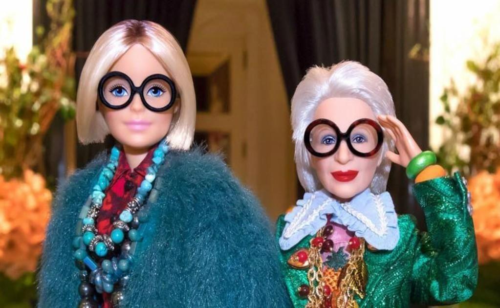 La barbie de Iris Apfel arrasa Instagram (con imágenes
