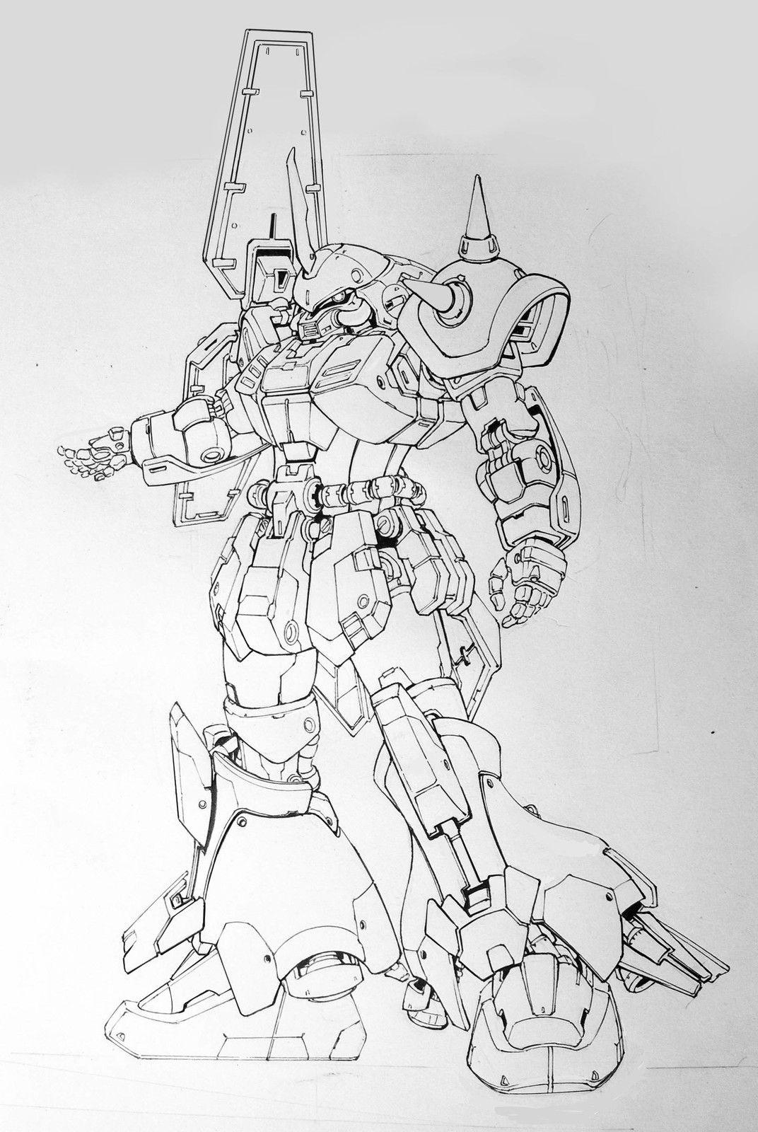 Pin By David Velez On Art In 2020 Gundam Art Robots Drawing