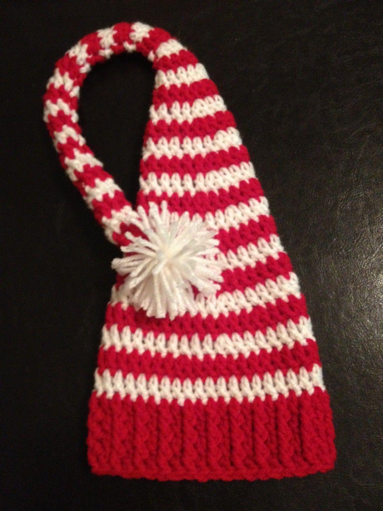 Crochet baby elf hat....for next baby\'s newborn pix   Pics ...