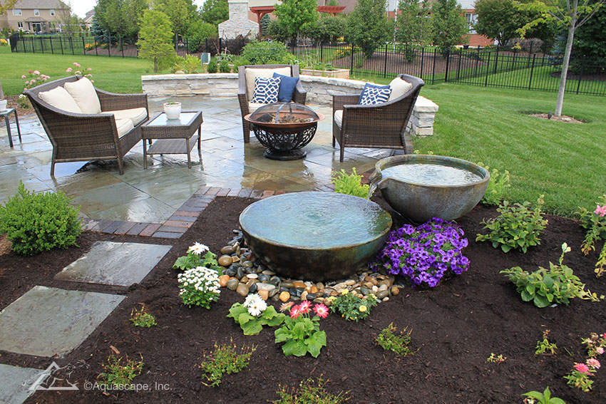 Backyard Fountains #fountaindiy