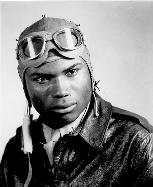 WOOTEN 8X10 PHOTO WWII TUSKEGEE AIRMAN PILOT HOWARD A
