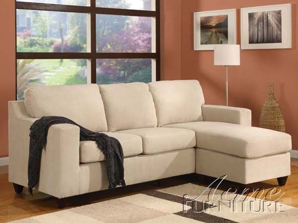 Vogue Reversible Chaise Sectional 05913b By Acme 05913b