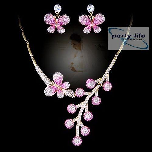 butterfly jelery weddings butterfly wedding jewelry set evening