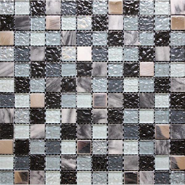Coastal Black Discount Mosaics The Mosaic Tile