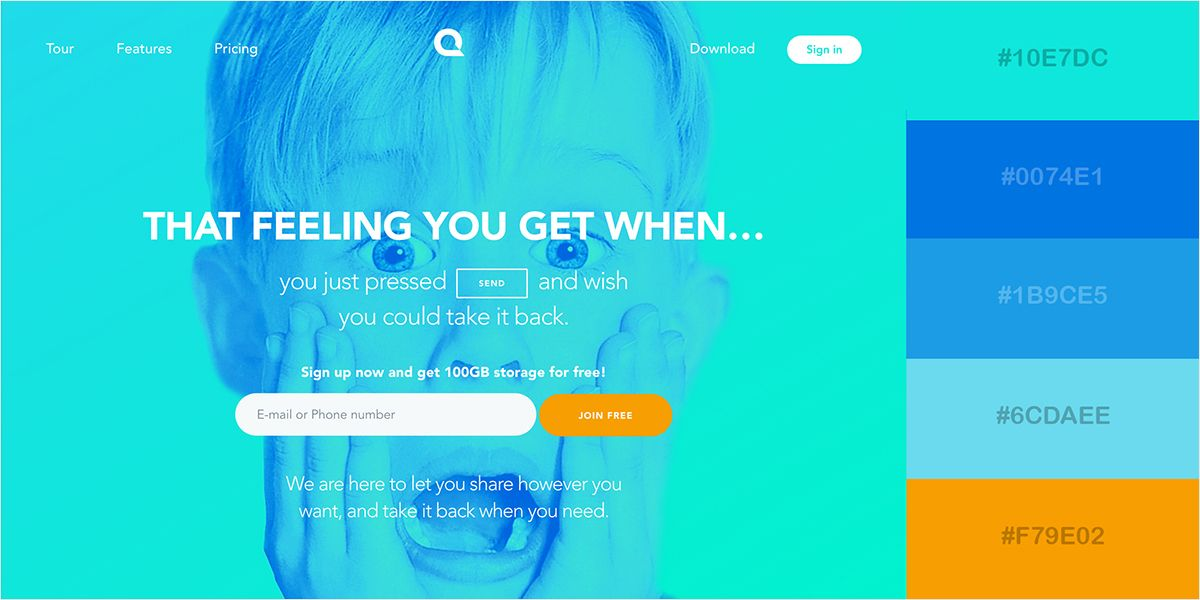 50 Gorgeous Color Schemes From Award Winning Websites Website Color Schemes Award Winning Websites Visual Learning