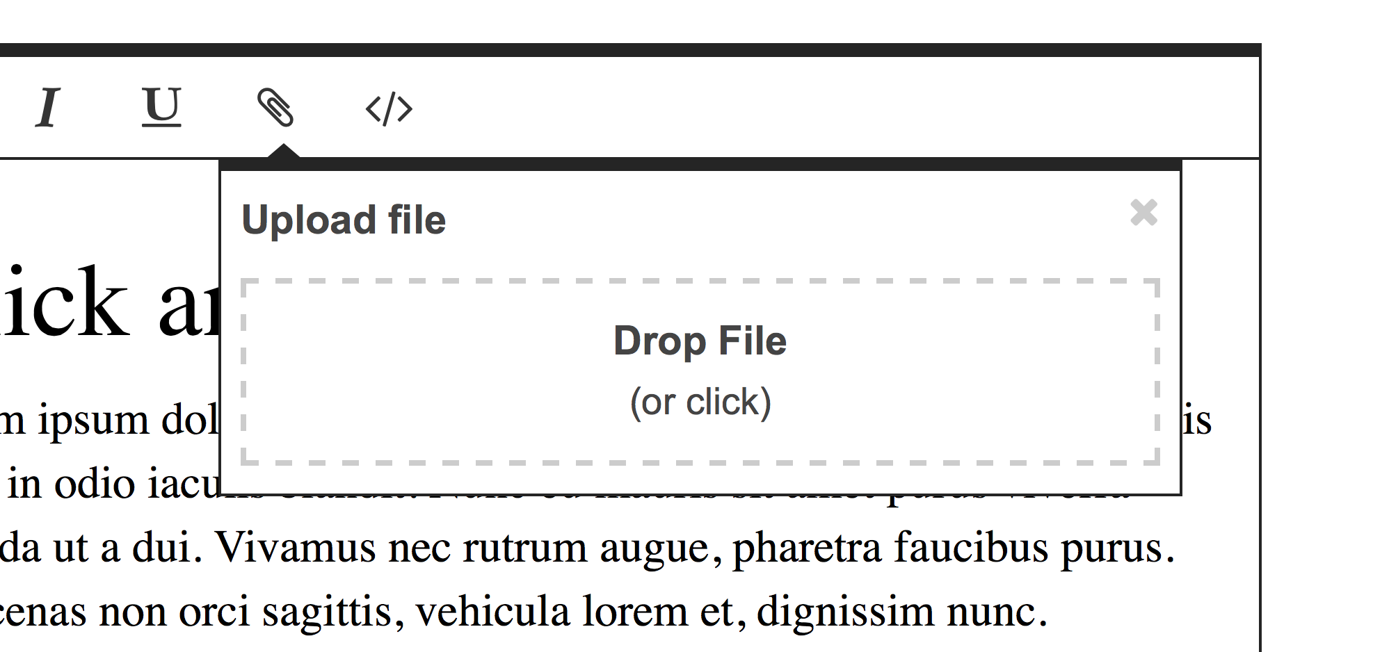 Don't forget to upgrade Froala WYSIWYG Editor to version 1 2