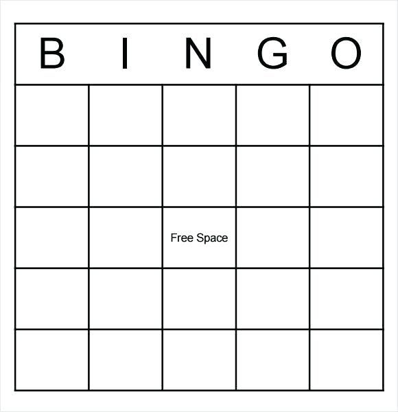 This Blank Bingo Card Template Word Uploaded By Heaven