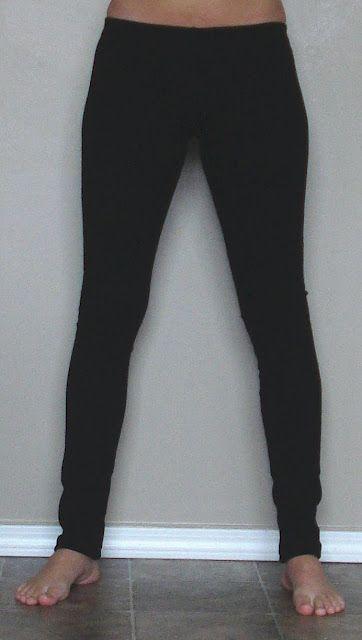 DIY leggings-----Very easy to understand tutorial. Even ...