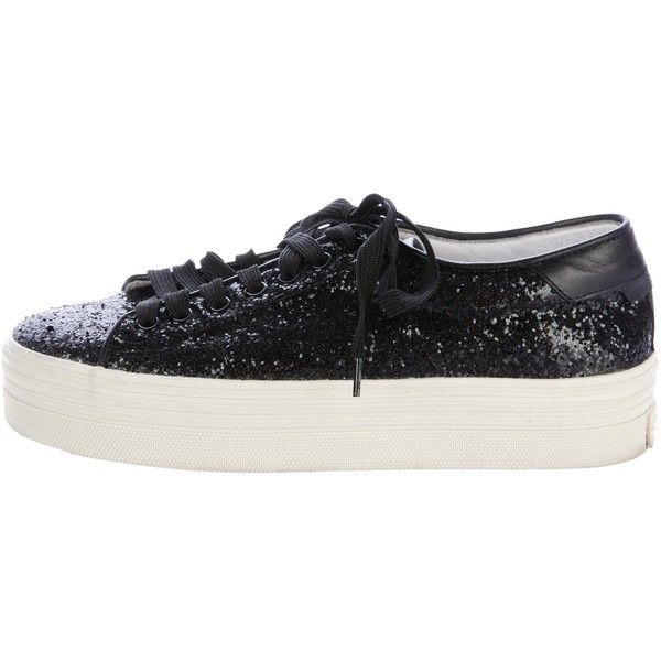 Pre-owned - Glitter trainers Saint Laurent tmAn5Z