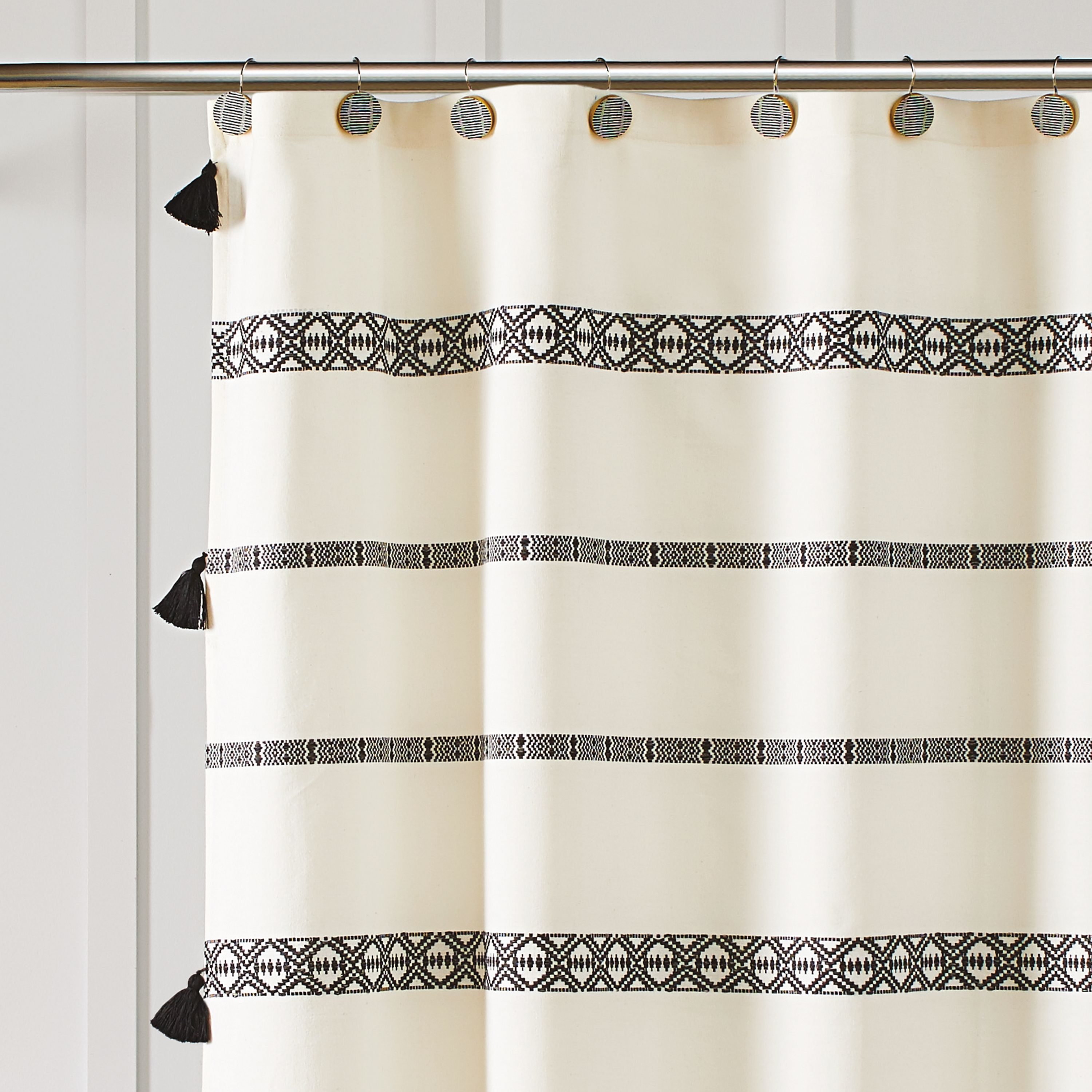 Better Homes And Gardens Tribal Chic Shower Curtain Walmart Com