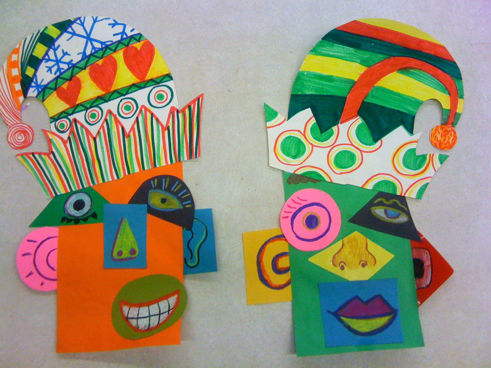 Picasso Portraits Art Projects for Kids