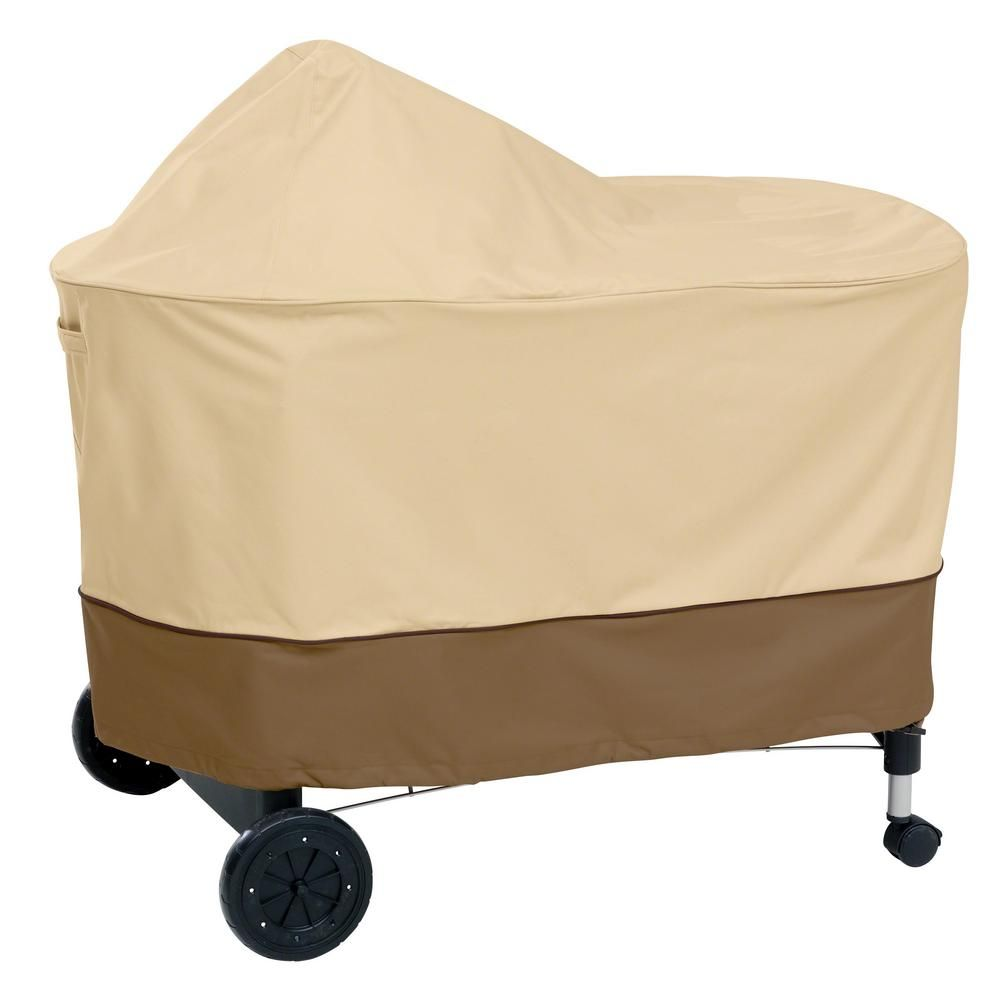 Classic Accessories Veranda Weber Performer Bbq Grill Cover Pebble Earth Brown Grill Cover Gas Grill Covers Bbq Cover