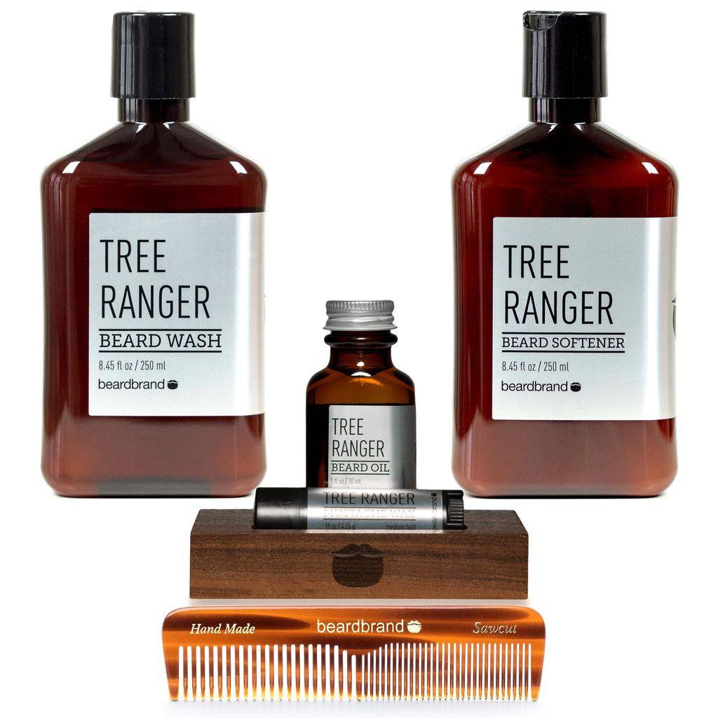 Silver Line Beginner's Beard Kit Beard grooming kit gift