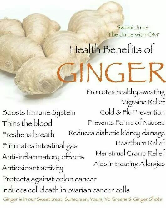 Uses and benefits of Ginger