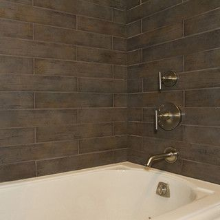 Dal Tile Timber Glen Espresso   Traditional   Bathroom Tile   San Francisco    By CheaperFloors