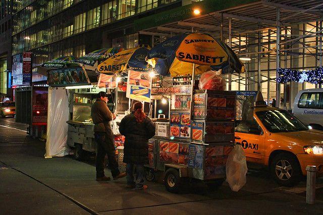 street food New York City