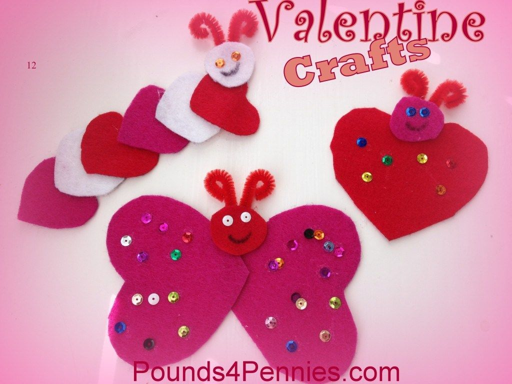 Valentines Crafts Kids Can Eat Materials For Valentine Crafts For