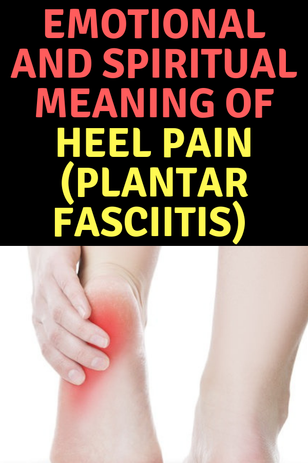 Spiritual Meaning of Foot Pain (Knees, Heels, Ankles) and
