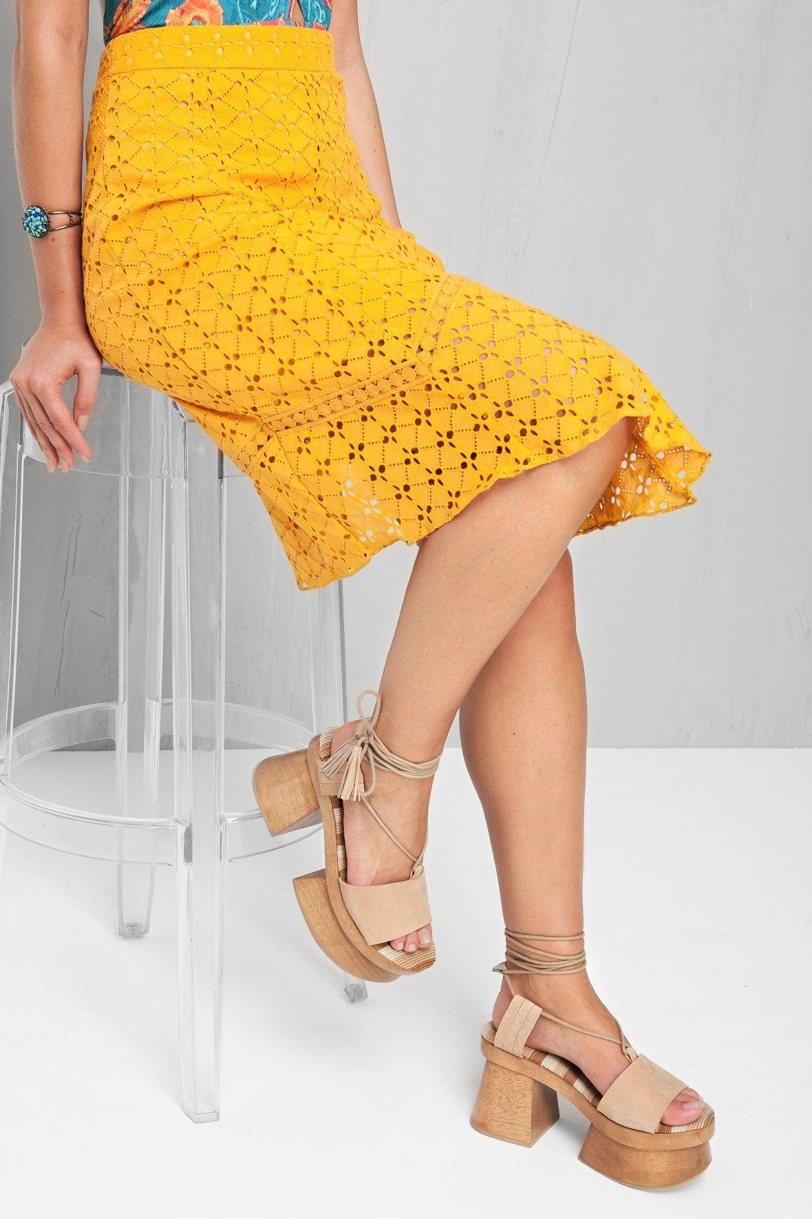 anabela gueisha | Dress to