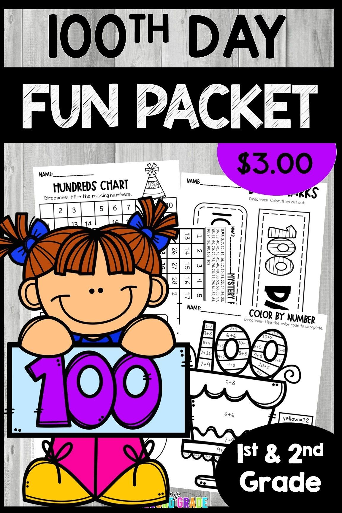 100th Day Of School Clipart School Activities 100 Days Of School School Coloring Pages