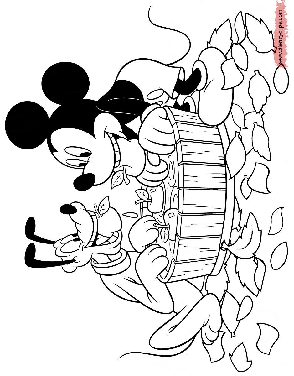Mickey Mouse And Friends Coloring Pages Mickey Mouse Coloring Pages Disney Coloring Pages Mickey Coloring Pages