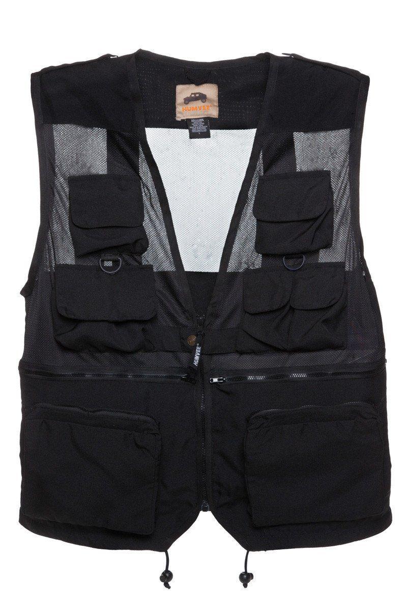 Humvee Combat Vest Black 3XL Womens vest, Mens outfits, Vest