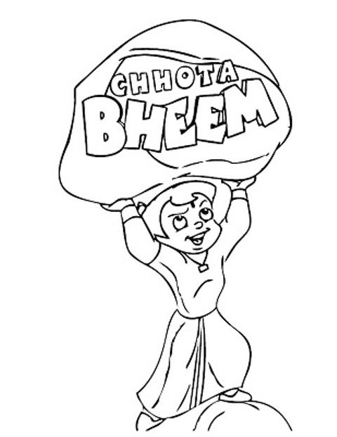 ABHINIVESH Places to Visit Pinterest Color pictures, Coloring - best of chhota bheem coloring pages games