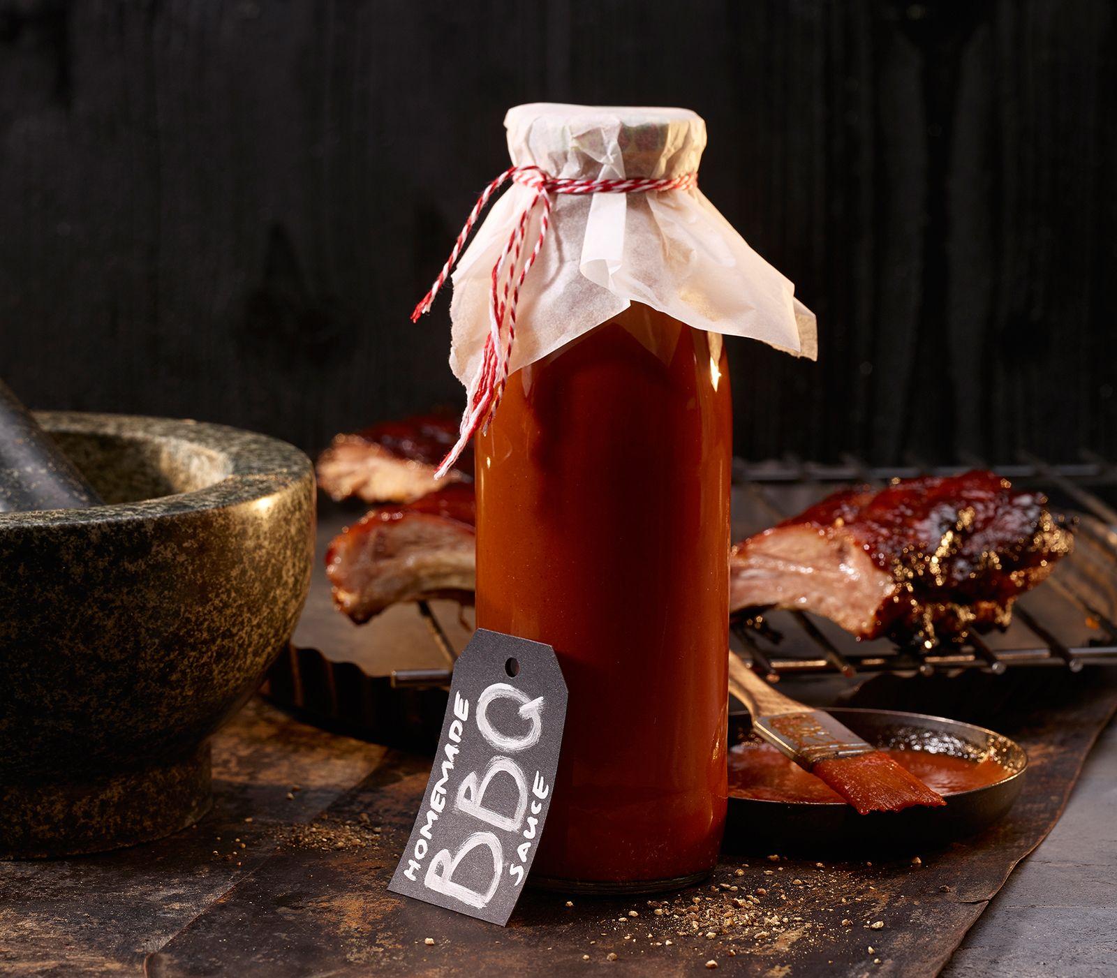 Hausgemachte BBQ-Sauce