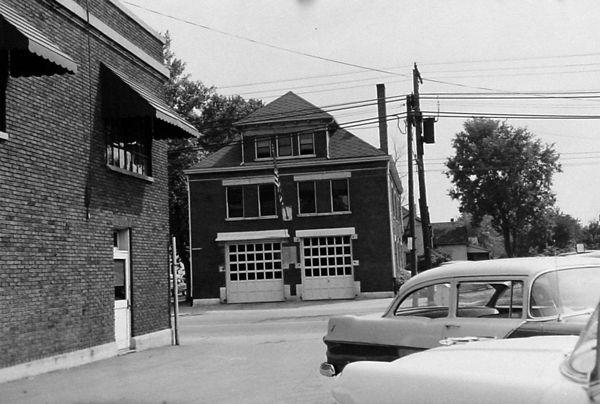 Fire House No 11 1957 Greenville Ohio Fire Station House Fire