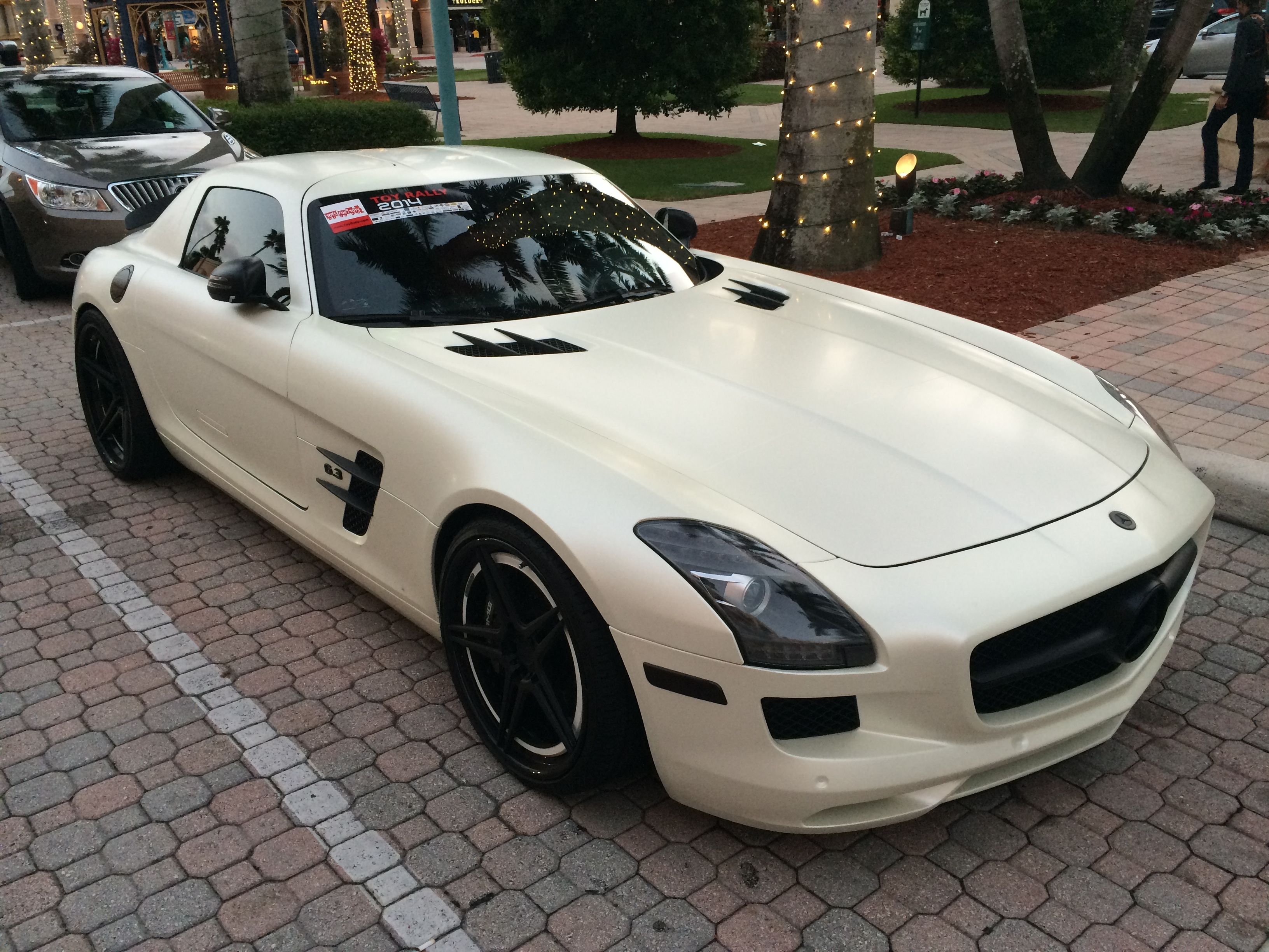 slick benz mizner park in boca raton fl luxury exotic car art