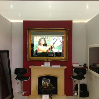 Our Grand Ornate Mirror TV Stole The Show At Designs Live In London