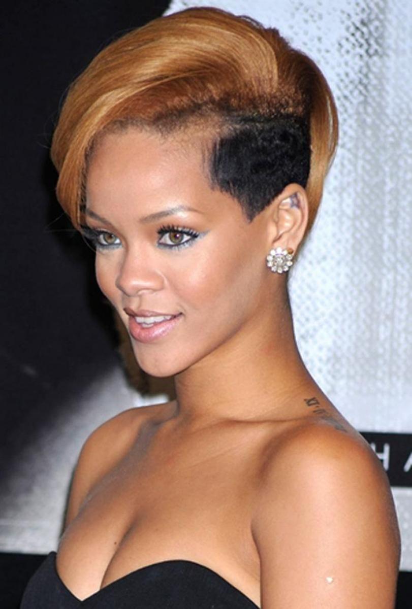 black female mohawk haircut | cute mohawk hairstyles for black