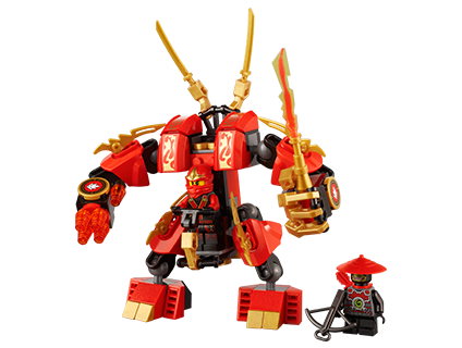 LEGO.com Ninjago Products - Models - 70500 KAI'S FIRE MECH