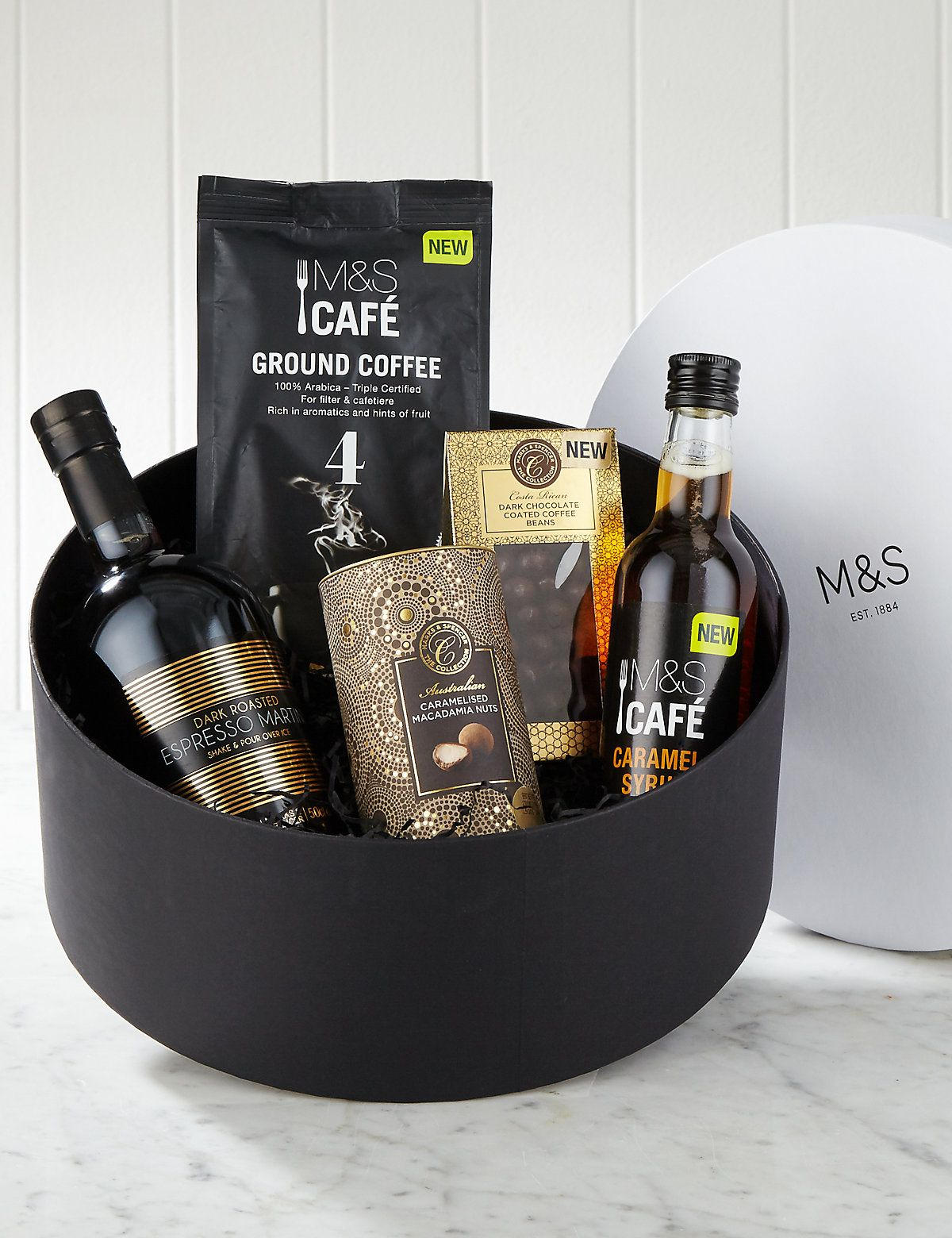 M&S Food | Adventures in Coffee Gift Box | styled by Rita Sarpong
