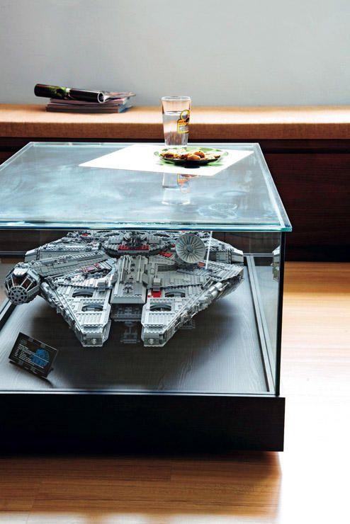 pingl par justine sur star wars deco lego deco ameublement et d coration geek. Black Bedroom Furniture Sets. Home Design Ideas