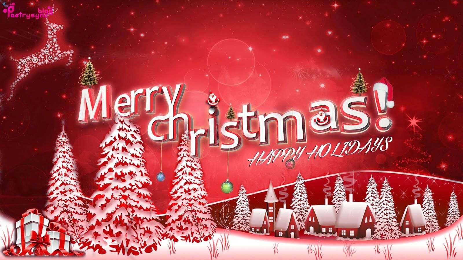 Happy Holidays And Merry Christmas Wishes Pictures With Quotes