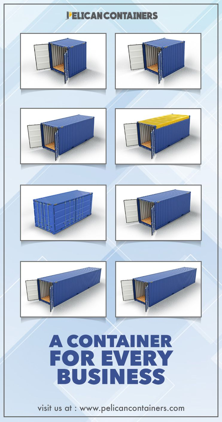 We Offer Shipping Containers From 6 To 45 With Different Door Options To Fit Your N Containers For Sale Used Shipping Containers Shipping Containers For Sale