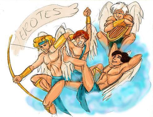 the winged eros