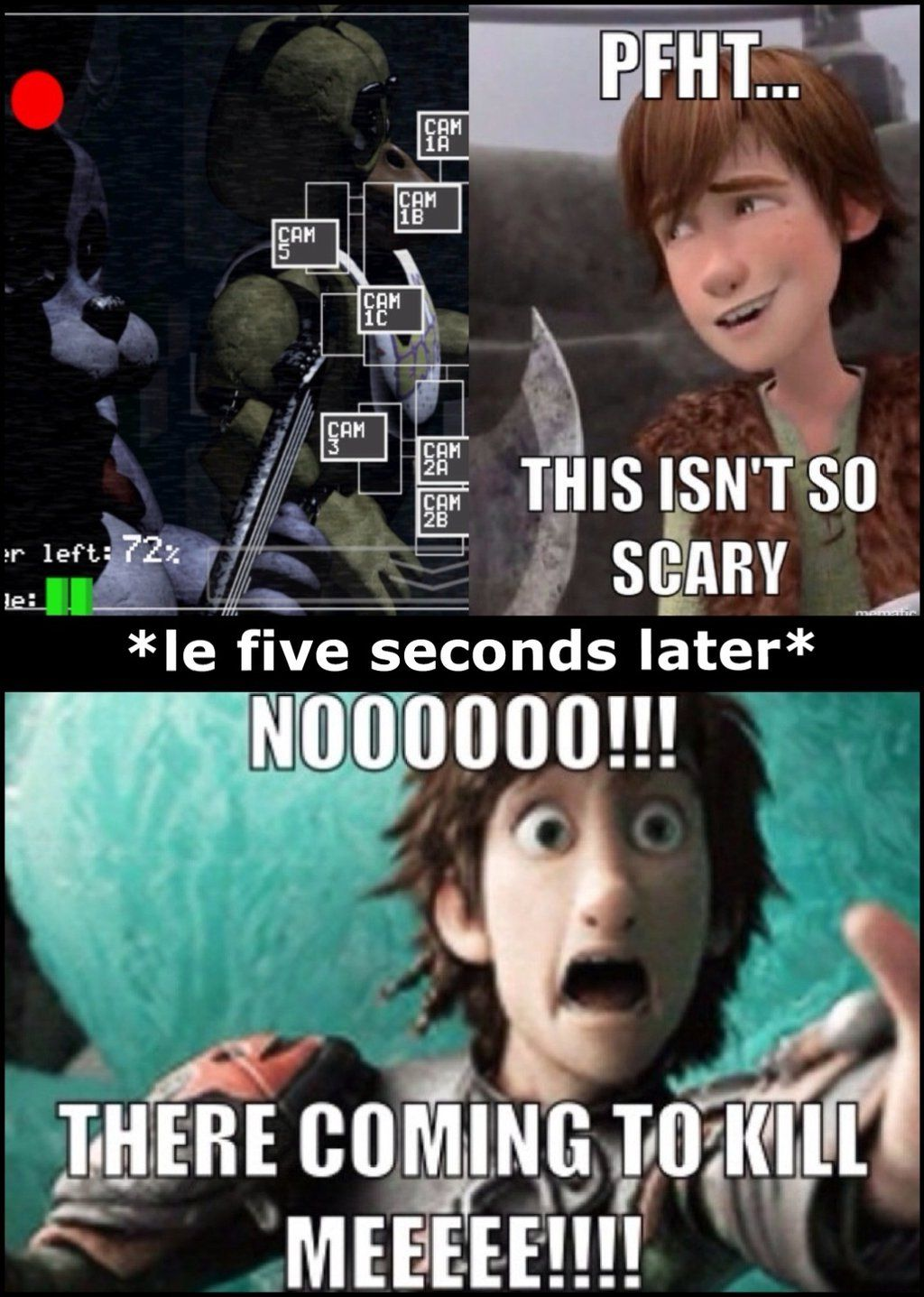 Hiccup plays FNaF. How to train dragon, How train your