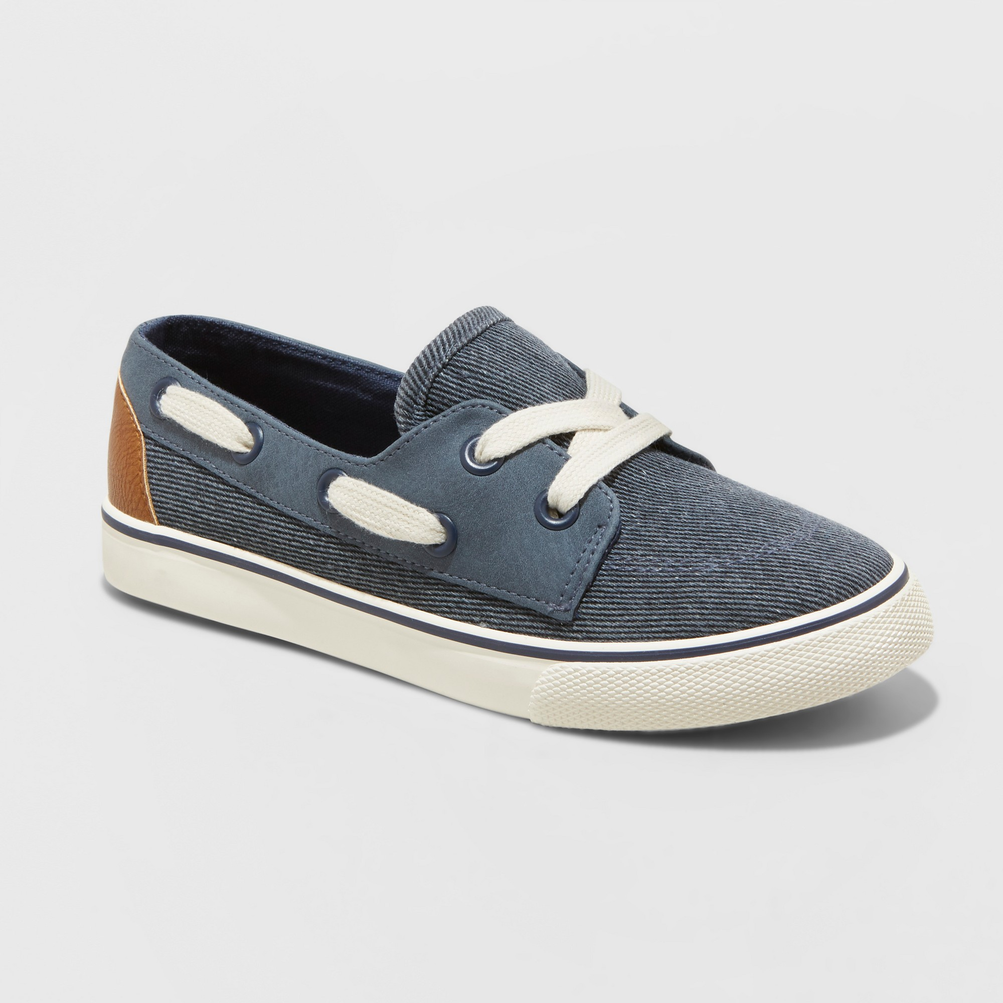 ad52806a70e3 Boys  Abe Boat Shoe - Cat   Jack Blue 1
