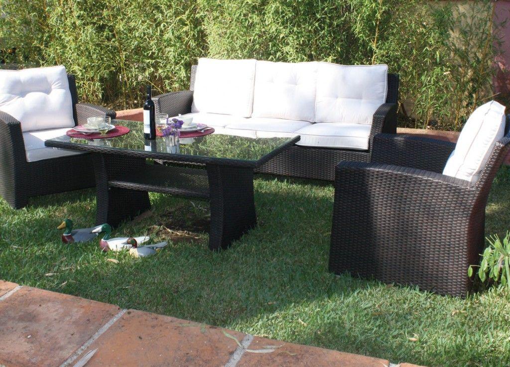 Aluminio y fibra sint tica gran opci n para muebles de - Muebles jardin cordoba ...
