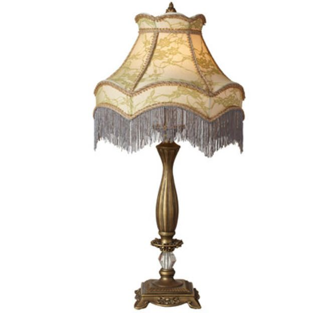 River Of Goods Downton Abbey 30 H Lace Fringe Table Lamp With