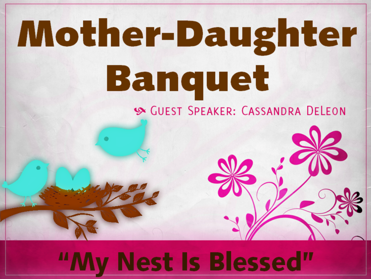 Mother Daughter Banquet Grace Baptist Church Anderson In Mother Daughter Mother Daughter Brunch Ideas Mother S Day Theme