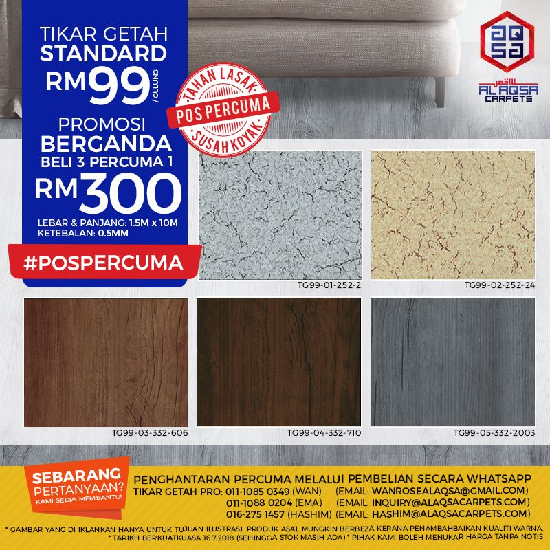 Grab This Offer Today Best Quality Tikar Getah Hard To Tear