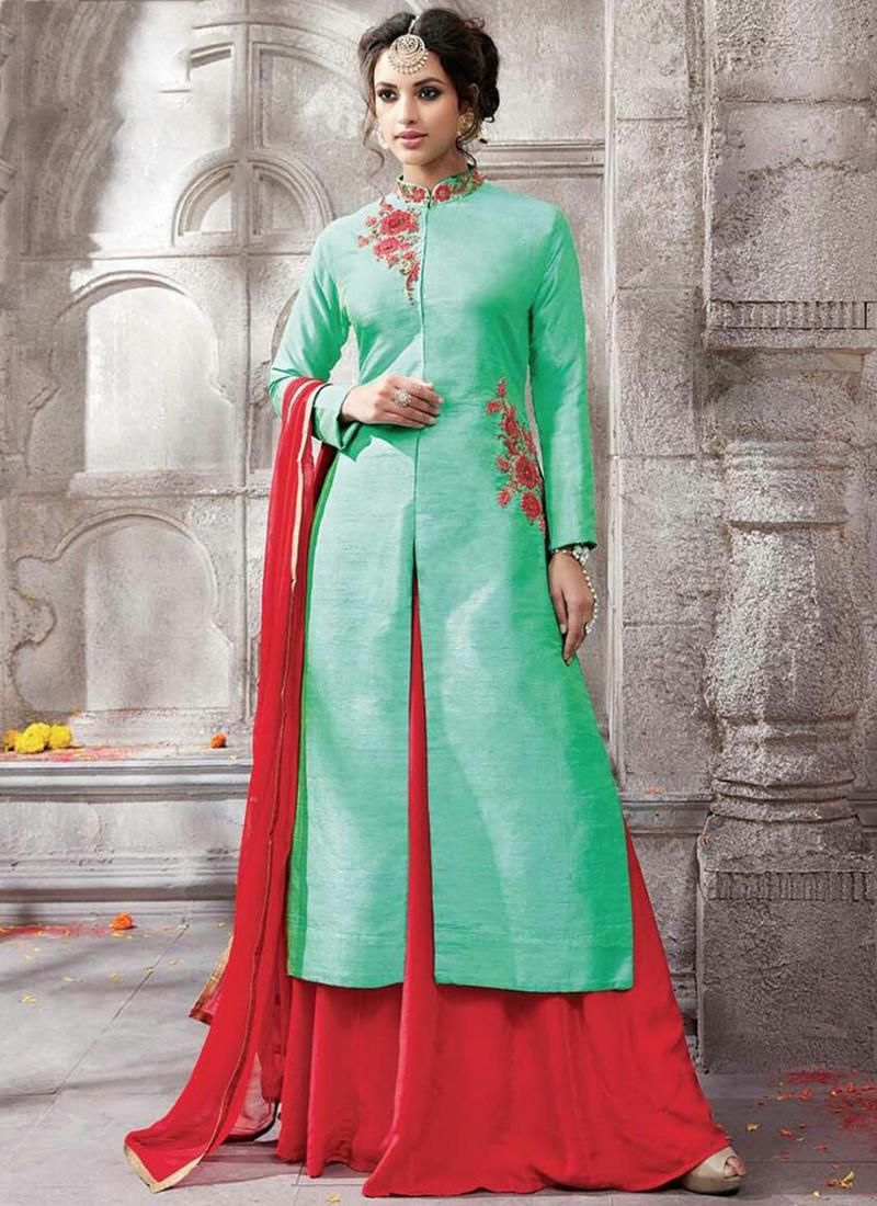 Find latest trend of salwar kameez. Buy this immaculate embroidered ...