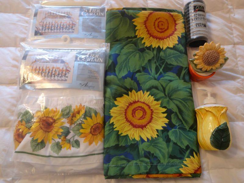 Images Sunflower Bathroom Toilet Pinterest