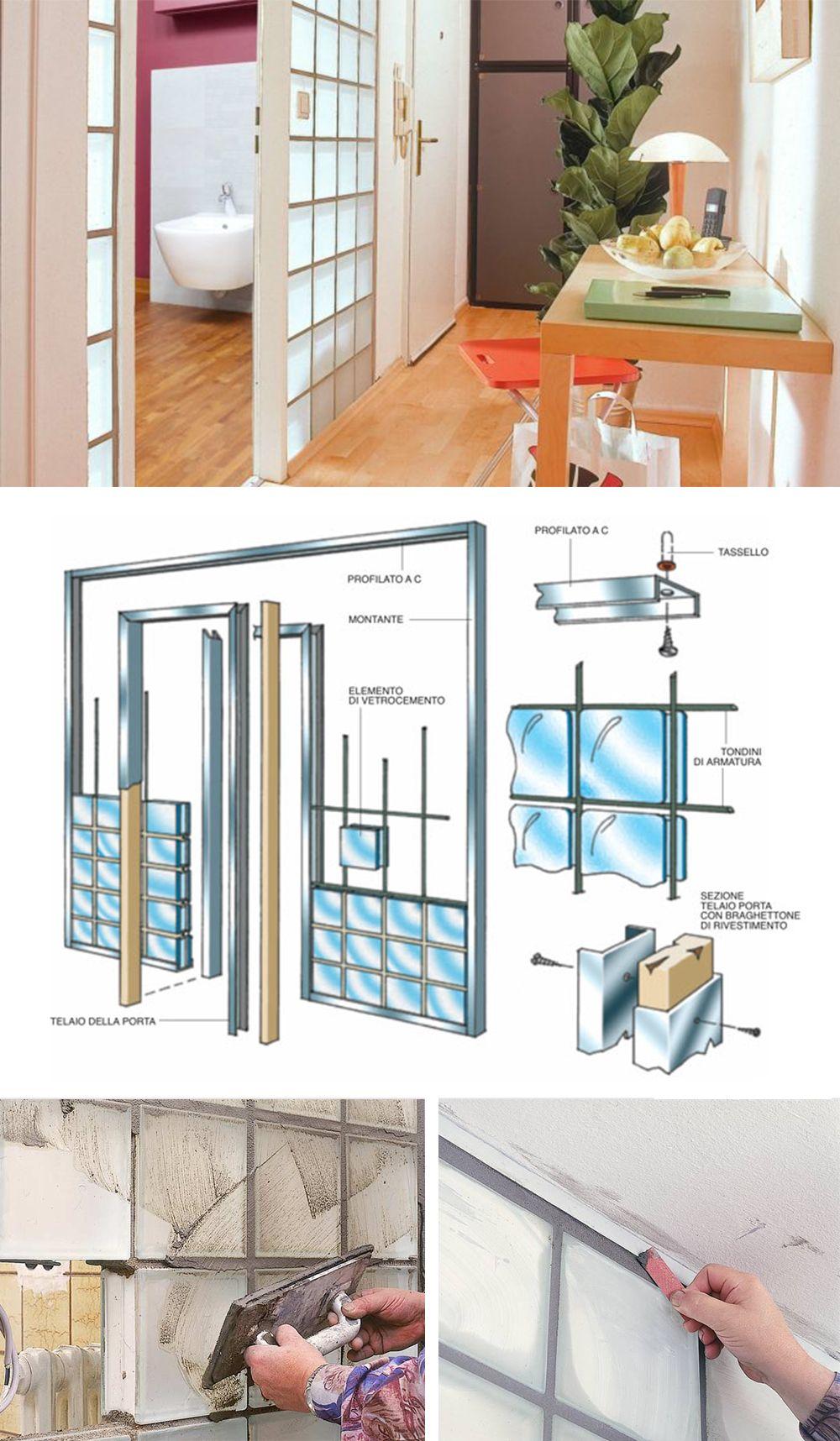 Costruire Una Parete In Vetrocemento parete in vetrocemento fai da te | parete